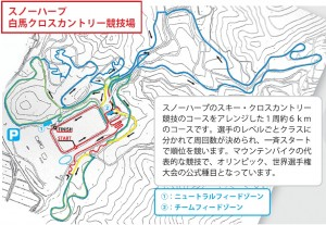 Course Map Hakuba