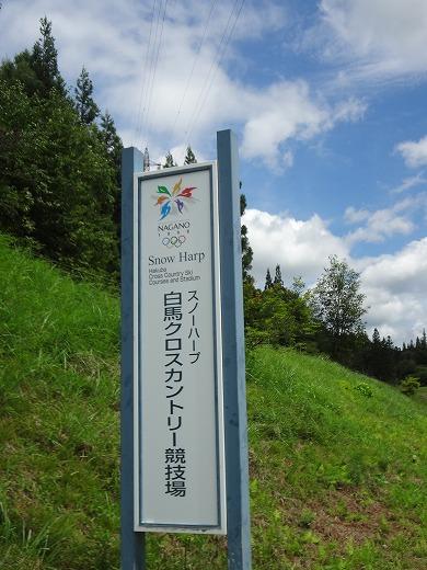 会場は1998年長野冬季オリンピック、クロスカントリースキー会場になった由緒あるエリアです