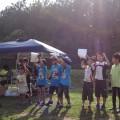 チビッ子チームの表彰式。和やかです