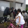イオンバイクさん自転車洗浄のご協力に感謝